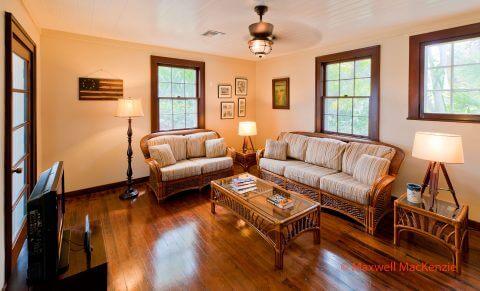 Rinehart Cottage living room