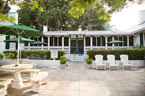 Historic Cabbage Key Restaurant Patio/Front Porch