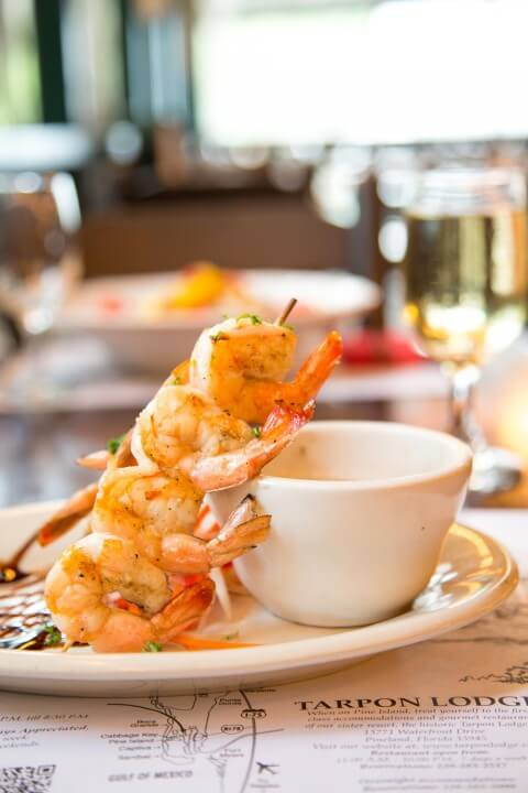 """Almost"" world famous Char Grilled Shrimp Appetizer"