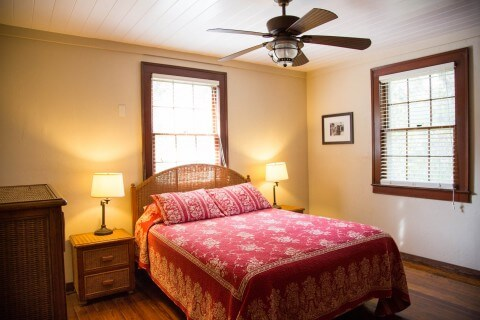 Rinehart Cottage 2nd bedroom.  Both are queen beds