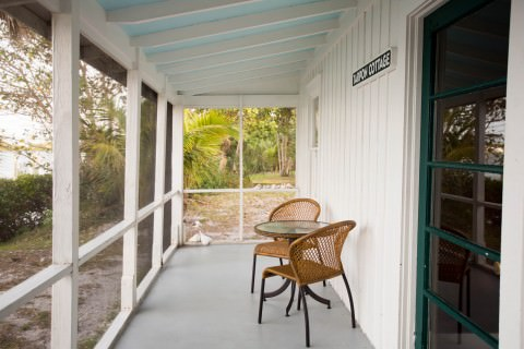 Tarpon Cottage Porch