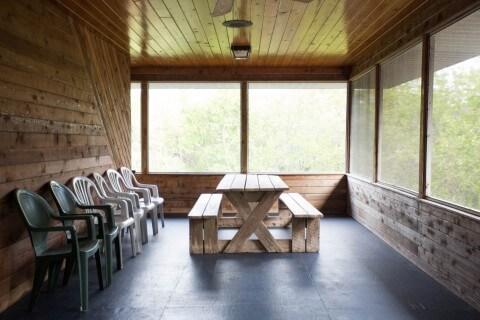 Blue Heron Cottage Porch