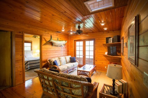 Living Room Blue Heron Cottage